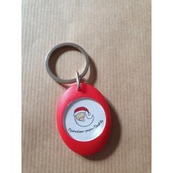 Porte-clé avec jeton de caddie